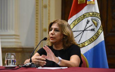 Asociación Médica de Rosario, por el pronto restablecimiento de la ministra de Salud, Sonia Martorano.